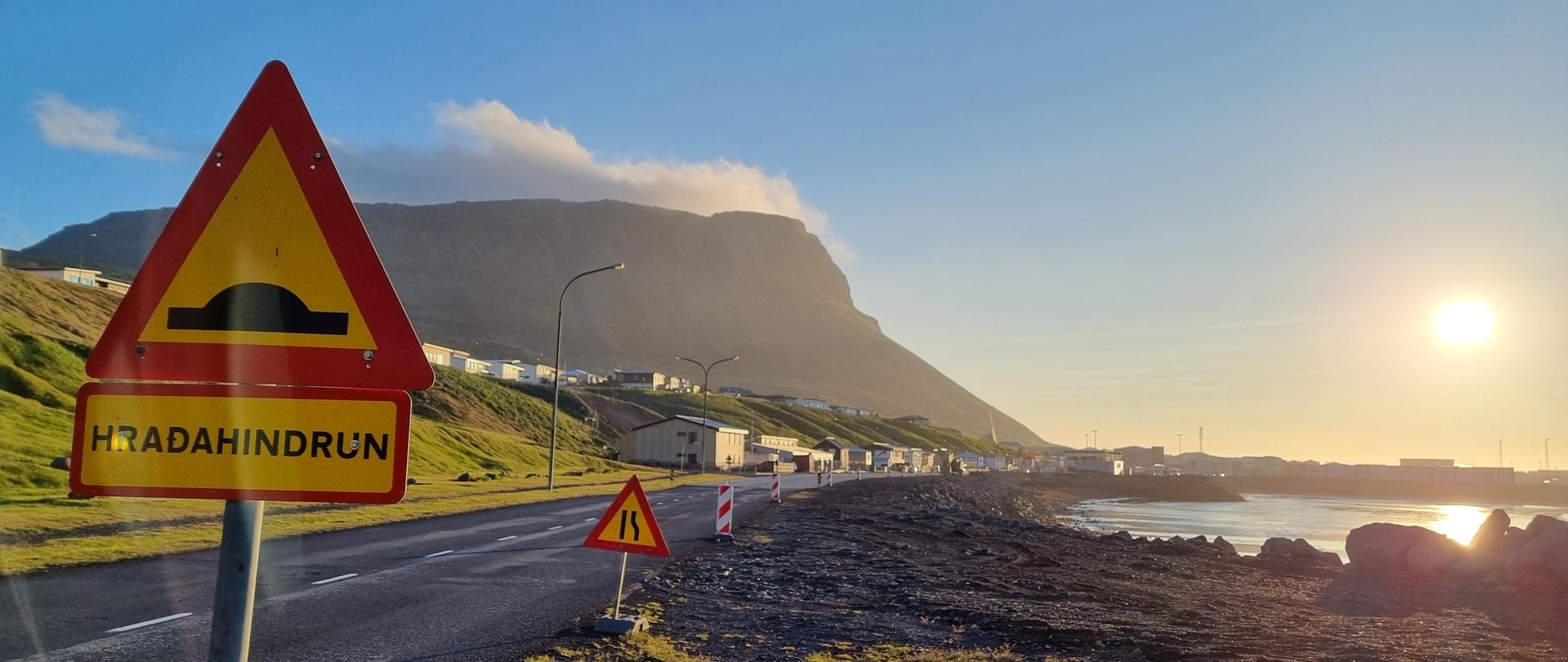 Actibump on Iceland